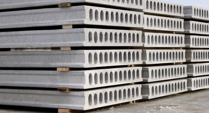 Плиты перекрытия из железобетона - в основе строительства